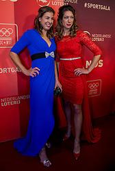 21-12-2016 NED: Sportgala NOC * NSF 2016, Amsterdam<br /> In de Amsterdamse RAI vindt het traditionele NOC NSF Sportgala weer plaats / Ilse Paulis en Maaike Head (r) zijn verkozen tot Sportploeg van het Jaar op het NOC*NSF Sportgala 2016