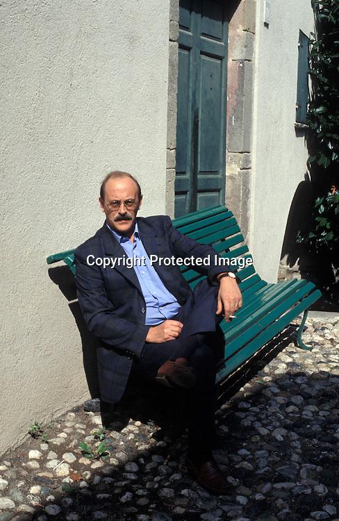 Anotnio Tabucchi<br />2004<br />world copyright Giovanni Giovannetti/effigie / Writer Pictures<br /> <br /> NO ITALY, NO AGENCY SALES / Writer Pictures<br /> <br /> NO ITALY, NO AGENCY SALES