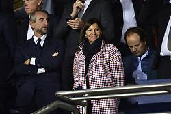 September 18, 2019, Paris, France, France: Jean Claude Blanc - Directeur General delegue du PSG.Anne Hidalgo - Maire de Paris (Credit Image: © Panoramic via ZUMA Press)