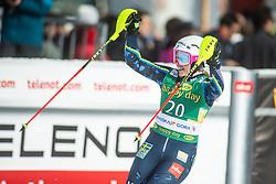 Magdalena Fjaellstroem (SWE) during second run at the Ladies' Slalom at 56th Golden Fox event at Audi FIS Ski World Cup 2019/20, on February 16, 2020 in Podkoren, Kranjska Gora, Slovenia. Photo by Matic Ritonja / Sportida