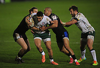 Rugby Union - 2020 / 2021 ER Challenge Cup - Quarter-final - Bath vs London Irish - The Recreation Ground<br /> <br /> Terrence Hepetema of London Irish<br /> <br /> Credit : COLORSPORT/ANDREW COWIE