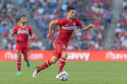 August 19, 2017 - Bridgeview, IL, United States - Bridgeview, IL - Saturday August 19, 2017: Toronto FC defeated the Chicago Fire 3-1 in a Major League Soccer match at Toyota Park. (Credit Image: © Robin Alam/ISIPhotos via ZUMA Wire)