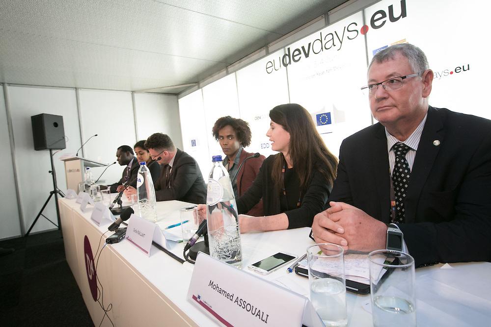 03 June 2015 - Belgium - Brussels - European Development Days - EDD - Migration - Migrants matter for development - New actors and energies in a new development agenda © European Union