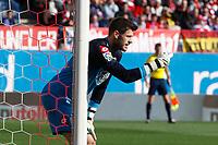 Deportivo de la Coruña´s goalkeeper Fabricio during 2014-15 La Liga match between Atletico de Madrid and Deportivo de la Coruña at Vicente Calderon stadium in Madrid, Spain. November 30, 2014. (ALTERPHOTOS/Victor Blanco)