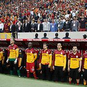Galatasaray's players during their Turkish Super League soccer match Galatasaray between Sivasspor at the AliSamiYen Spor Kompleksi TT Arena at Seyrantepe in Istanbul Turkey on Sunday 05 May 2013. Photo by TURKPIX