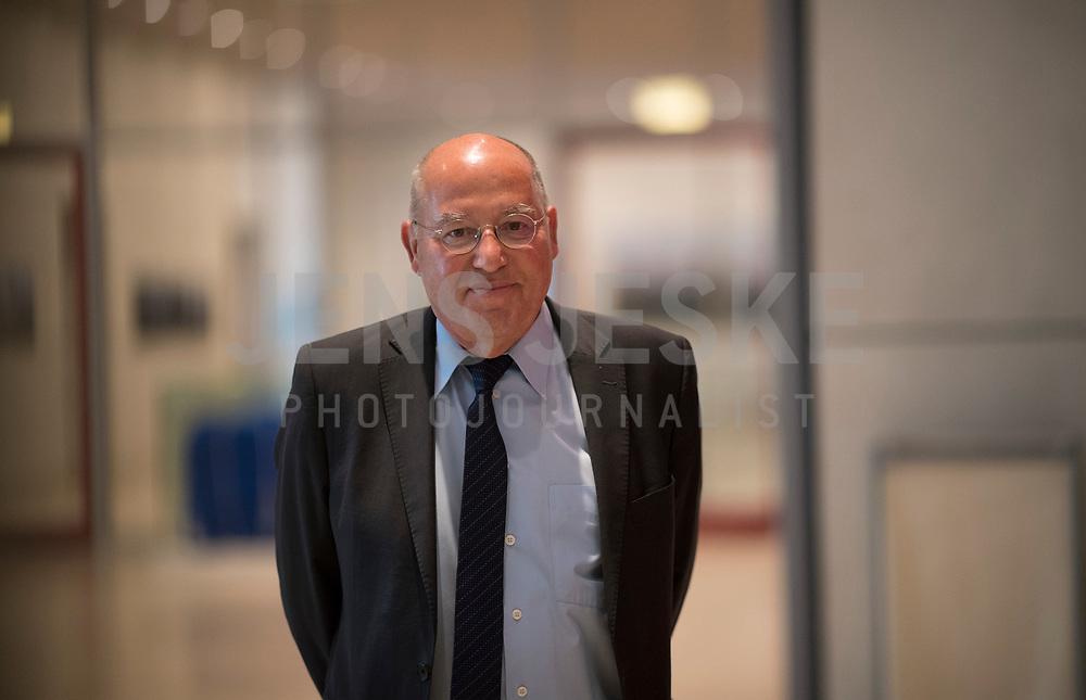 DEU, Deutschland, Germany, Berlin, 05.05.2020: Dr. Gregor Gysi (Die Linke) vor seiner heutigen Wahl zum außenpolitischen Sprecher der Linksfraktion im Deutschen Bundestag.