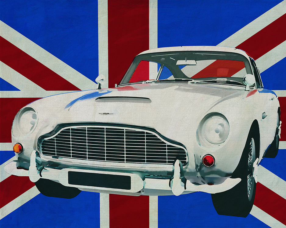 Aston Martin is a name as well known as Big Ben in London. British at its best, you could call Aston Martin's sports cars. Imagine the Aston Martin DB5 in front of the British flag, the Union Jack, could it be more British? <br />