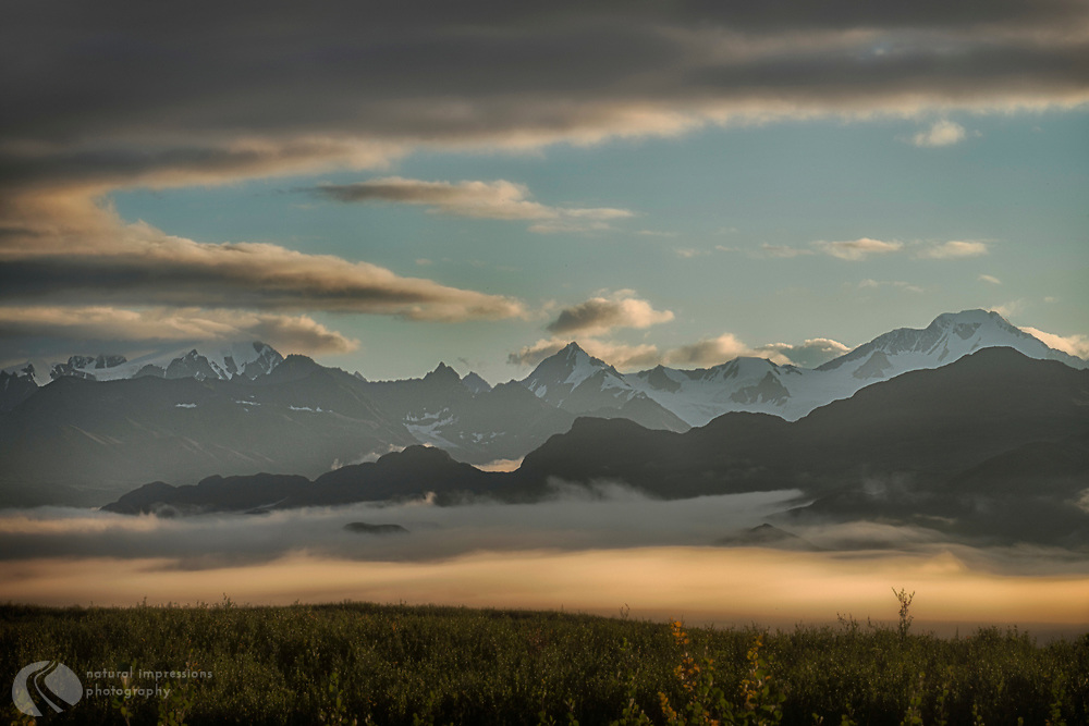 The Denali Highway stretches 67 miles, a gravel road along staggering beauty from Cantwell to Delta Junction