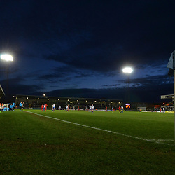 TELFORD COPYRIGHT MIKE SHERIDAN 12/1/2019 - A general view external of Victoria Road during the Vanarama Conference North fixture between AFC Telford United and Hartlepool United at the Super Six Stadium.