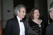ERIC ABRAHAM AND SIGRID RAUSING, Drinks Reception before the Man Booker Prize 2006. Guildhall, Gresham Street, London, EC2, 10 October 2006. -DO NOT ARCHIVE-© Copyright Photograph by Dafydd Jones 66 Stockwell Park Rd. London SW9 0DA Tel 020 7733 0108 www.dafjones.com