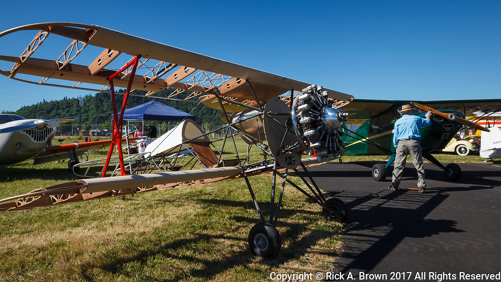 Sampson and Interstate Cadet at Wings and Wheels.