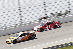 July 1, 2018 - Joliet, Illinois, United States of America - Trevor Bayne (6) battles for position during the Overton's 400 at Chicagoland Speedway in Joliet, Illinois  (Credit Image: © Justin R. Noe Asp Inc/ASP via ZUMA Wire)