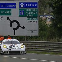 #89, Porsche 911 RSR, Proton Competition, driven by Cooper MacNeil, Lehman Keen, Marc Miller, 24 Heures Du Mans , 05/06/2016,