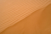wind shaped Desert sand dune