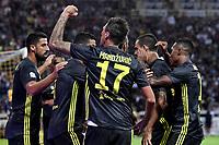 Esultanza Mario Mandzukic Juventus celebration <br /> Parma 01-09-2018 Stadio Ennio Tardini Calcio Serie A 2018/2019 Parma - Juventus <br /> Foto Andrea Staccioli / Insidefoto