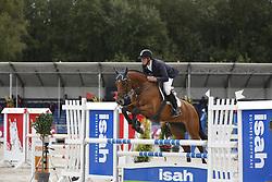 067 - Fabette - Van Der Vaart Olivier<br /> 4 Jarige Finale Springen<br /> KWPN Paardendagen - Ermelo 2014<br /> © Dirk Caremans