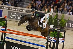 Bengtsson Rolf Goran (SWE) - Casall La Silla<br /> Rolex FEI World Cup ™ Jumping Final <br /> 'S Hertogenbosch 2012<br /> © Dirk Caremans