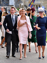 Guest arrive the wedding of Princess Eugenie to Jack Brooksbank at St George's Chapel in Windsor Castle. Naomi Campbell, Liv Tyler, Holly Valance. 12 Oct 2018 Pictured: Nick Candy and Holly Valance. Photo credit: WPA Pool/Mega TheMegaAgency.com +1 888 505 6342