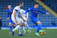 Ian Henderson controls the ball during the EFL Sky Bet League 1 match between Rochdale and Coventry City at Spotland, Rochdale, England on 9 February 2019.