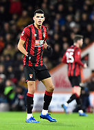 Dominic Solanke (9) of AFC Bournemouth during the The FA Cup match between Bournemouth and Arsenal at the Vitality Stadium, Bournemouth, England on 27 January 2020.