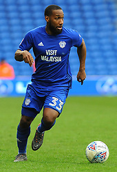 Junior Hoilett of Cardiff City in action- Mandatory by-line: Nizaam Jones/JMP - 10/03/2018 -  FOOTBALL -  Cardiff City Stadium- Cardiff, Wales -  Cardiff City v Birmingham City - Sky Bet Championship