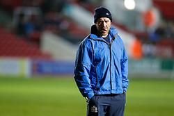 Bristol Rugby coach Mark Irish looks on - Mandatory byline: Rogan Thomson/JMP - 22/01/2016 - RUGBY UNION - Ashton Gate Stadium - Bristol, England - Bristol Rugby v Ulster A - British & Irish Cup.