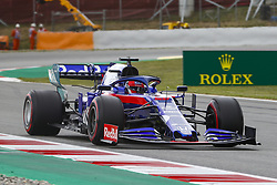 May 11, 2019 - Barcelona, Catalonia, Spain - Scuderia Toro Rosso HONDA driver Daniil Kvyat (26) of Russia during F1 Grand Prix free practice celebrated at Circuit of Barcelona 11th May 2019 in Barcelona, Spain. (Credit Image: © Mikel Trigueros/NurPhoto via ZUMA Press)