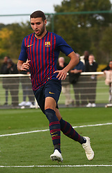 October 3, 2018 - London, England, United Kingdom - Enfield, UK. 03 October, 2018.Abel Ruiz of FC Barcelona .during UEFA Youth League match between Tottenham Hotspur and FC Barcelona at Hotspur Way, Enfield. (Credit Image: © Action Foto Sport/NurPhoto/ZUMA Press)