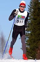 NM langrenn jr G 18 år 7,5 km. klassisk 18.02.2006<br /> Jacob Ziiesler, NTG Sandnes IL<br /> Foto: Carl-Erik Eriksson, Digitalsport