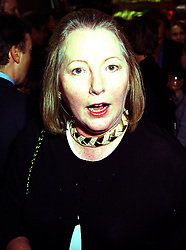 Writer SARAH BRADFORD, she is Viscountess Bangor, at a party in London on 14th September 1999.MWH 50