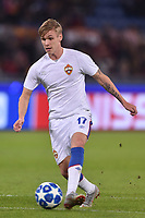 Arnor Sigurdsson CSKA<br /> Roma 23-10-2018 Stadio Olimpico<br /> Football Calcio UEFA Champions League 2018/2019, Group G. <br /> AS Roma - CSKA Moscow<br /> Foto Antonietta Baldassarre / Insidefoto