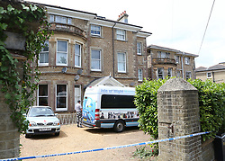 Ryde Isle of  Wight Wednesday 15th June 2016 A man was stabbed in the back by his partner with such force the knife penetrated his chest and killed him. <br /> An inquest was opened today (Wednesday) at the Isle of Wight Coroner's Court into the death of Jolyon Barry Wray, 46, whose body was found at his Ryde home earlier this week.<br />  Hampshire police have launched a murder investigation and arrested a 53-year-old woman.<br /> They were called to Mr Wray's flat, at East Hill Road, shortly before 4pm on Monday.<br /> The inquest heard a 999 call was made to police, who could heard an argument between a man and woman, before the caller hung up.<br /> The police called back and spoke to a woman, who said she had stabbed her partner with a knife and may have killed him.<br /> When officers arrived at the address, they found Mr Wray's body on the lounge sofa.<br /> He was pronounced dead at 4.20pm.<br /> Although Mr Wray was stabbed in the back, a post mortem, carried out at the Royal Hampshire Hospital, Winchester, concluded Mr Wray died of wounds to the chest. The knife had carried through to the chest cavity, causing his death.<br /> The police investigation is being carried out by Hampshire Constabulary's Major Crime Unit.<br /> Isle of Wight coroner Caroline Sumeray adjourned the inquest to December 13.@UKNIP