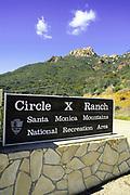 Circle X Ranch, Santa Monica Mountains <br /> National Recreation Area, California (CC)