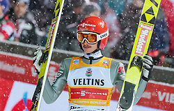 16.12.2017, Gross Titlis Schanze, Engelberg, SUI, FIS Weltcup Ski Sprung, Engelberg, im Bild Richard Freitag (GER) // Richard Freitag of Germany during Mens FIS Skijumping World Cup at the Gross Titlis Schanze in Engelberg, Switzerland on 2017/12/16. EXPA Pictures © 2017, PhotoCredit: EXPA/JFK
