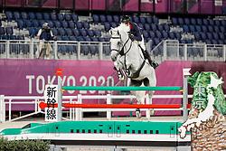 Delestre Simon, FRA, Berlux Z, 336<br /> Olympic Games Tokyo 2021<br /> © Hippo Foto - Stefan Lafrentz<br /> 06/08/2021