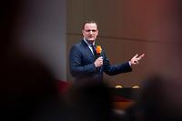 30 NOV 2018, BERLIN/GERMANY:<br /> Jens Spahn, CDU, Bundesgesundheitsminister, haelt eine Rede, waehrend der Regionalkonferenz der CDU zur Vorstellung der Kandidaten fuer das Amt des Bundesvorsitzenden der CDU, Estrell Convention Center<br /> IMAGE: 20181130-01-009