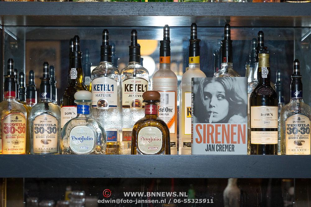 NLD/Amsterdam/20171016 - Sirenen boekpresentatie Jan Cremer,