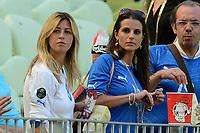 """Roberta MARCHISIO, Cristiana DE PIN (Italia)<br /> Danzica 10/06/2012  """"GDANSK ARENA""""<br /> Football calcio Europeo 2012  Spagna Vs Italia <br /> Football Calcio Euro 2012<br /> Foto Insidefoto Alessandro Sabattini"""