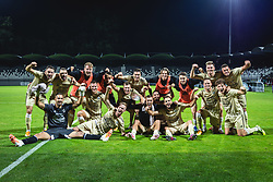 Players of Mura after the match  football match between NS Mura and AGF Aarhus in Second Round of UEFA Europa League Qualifications, on September 17, 2020 in Stadium Fazanerija, Murska Sobota, Slovenia. Photo by Blaz Weindorfer / Sportida