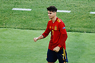 Alvaro Morata of Spain celebrates his goal during the UEFA Euro 2020, Group E football match between Spain and Poland on June 19, 2021 at La Cartuja stadium in Seville, Spain - Photo Joaquin Corchero / Spain ProSportsImages / DPPI / ProSportsImages / DPPI