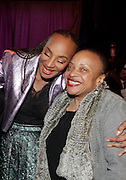 January 30, 2017-New York, New York-United States: (L-R) Susan L. Taylor, Founder National CARES Mentoring Movement and Dr. Deb Willis, Curator & Chair, Photography Dept., NYU attend the National Cares Mentoring Movement 'For the Love of Our Children Gala' held at Cipriani 42nd Street on January 30, 2017 in New York City. The National CARES Mentoring Movement seeks to dispel that notion by providing young people with role models who will play an active role in helping to shape their development.(Terrence Jennings/terrencejennings.com)