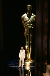 Host Ellen DeGeneres on stage at the 79th Academy Awards at the Kodak Theater in Los Angeles, California, Sunday, February 25, 2007. (Michael Goulding/Orange County Register/MCT)