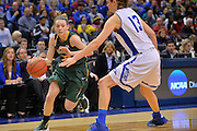 April 4, 2016; Indianapolis, Ind.; Jessica Madison looks to drive the paint in the NCAA Division II Women's Basketball National Championship game at Bankers Life Fieldhouse between UAA and Lubbock Christian. The Seawolves lost to the Lady Chaps 78-73.