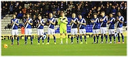 Minutes applause Birmingham City during the Sky Bet Championship match between Birmingham City and Bolton Wanderers at St Andrews, Birmingham, England on 23 February 2016. Photo by Daniel Youngs.
