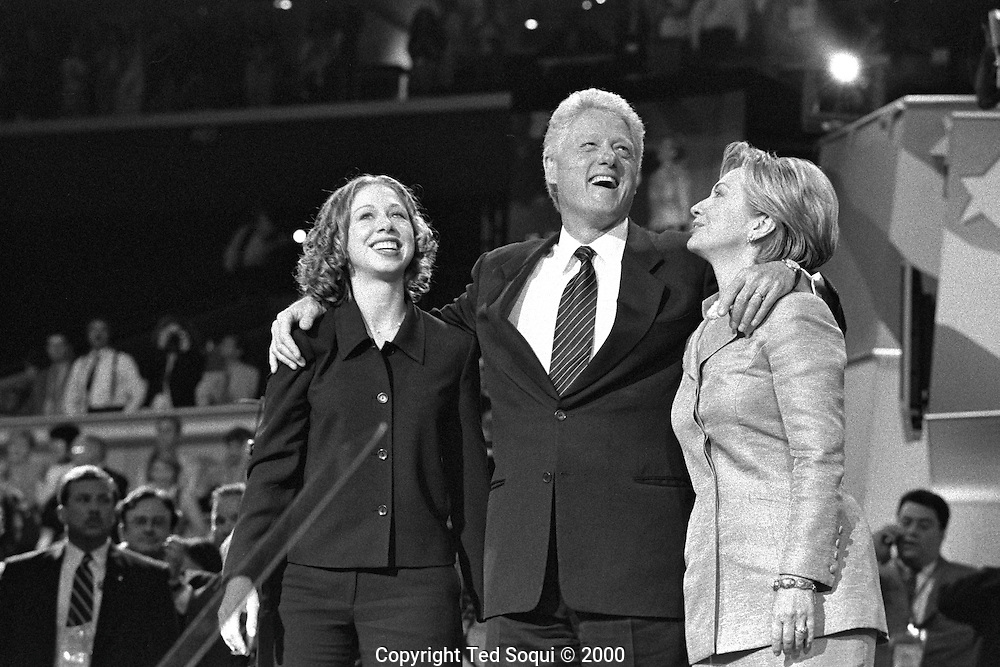 2000 Democratic National Convention held in Los Angeles.