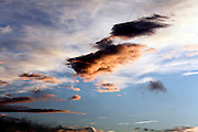 dramatic cloud formation