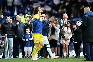 Chelsea defender David Luiz (30) comes out for the Premier League match between Everton and Chelsea at Goodison Park, Liverpool, England on 17 March 2019.