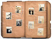 photo album pages Japan ca 1940s - 1950s