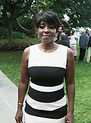 New York, New York, NY-August 31: Author/TV Personality Cheryl Wills attends the celebration of Harlem Week 2017 themed with a salute to ' Harlem: Home of Immigrants' honoring New York's International Diversity held at Gracie Mansion on August 3, 2017 in New York City. (Photo by Terrence Jennings/terrencejennings.com)