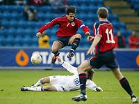 Fotball, 28. april 2004, Privatlandskamp, Norge-Russland,  Martin Andresen, Norge